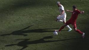 FOTO: Belgia Melangkah ke 16 Besar Euro 2020