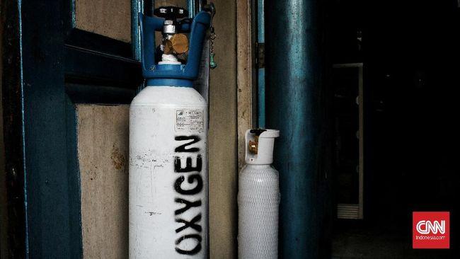 Asosiasi Gas Industri Indonesia mencatat ketersediaan stok tabung gas oksigen cukup untuk mengantisipasi lonjakan permintaan karena naiknya kasus covid-19.