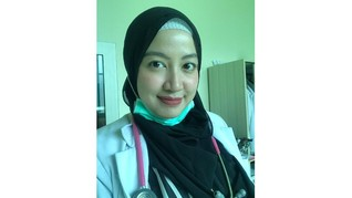 Cerita Dokter Maissy 'Ci Luk Ba' Hadapi Pandemi kala Hamil