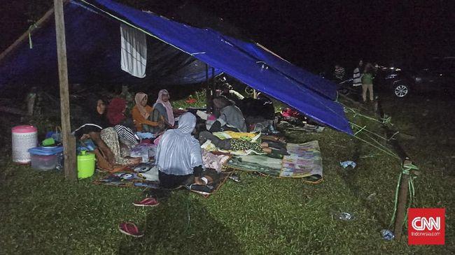 Gempa bumi bermagnitudo 3,0 kembali mengguncang Tehoru, Maluku Tengah pada Sabtu (19/6) malam.