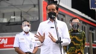 SMRC: 52 Persen Publik Tolak Jokowi Nyapres Lagi