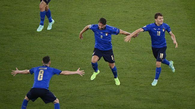 Berikut prediksi Italia vs Wales di Euro 2020 (Euro 2021) yang akan berlangsung Minggu (20/6) malam waktu Indonesia.