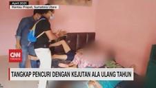 VIDEO: Tangkap Pencuri Dengan Kejutan Ala Ulang Tahun