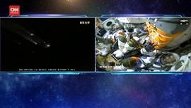 VIDEO: Momen China Kirim Astronaut ke Stasiun Luar Angkasa