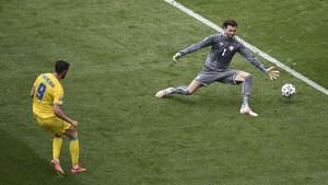 FOTO: Ukraina Rebut Tiga Poin Perdana di Euro 2020