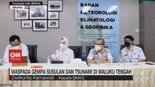 VIDEO: Waspada Gempa Bumi Susulan & Tsunami Di Maluku Tengah