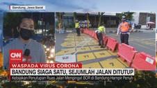 VIDEO: Bandung Siaga Satu, Sejumlah Jalan Ditutup