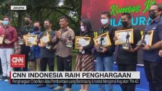 VIDEO: CNN Indonesia Raih Penghargaan