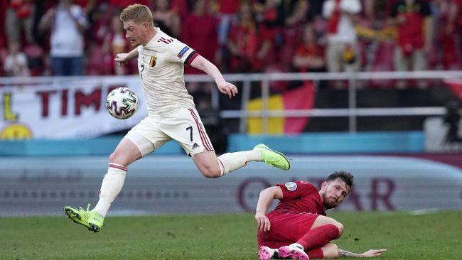Timnas Belgia berhasil mengalahkan timnas Denmark dengan skor 2-1 dan lolos ke babak 16 besar Euro 2020 (Euro 2021).