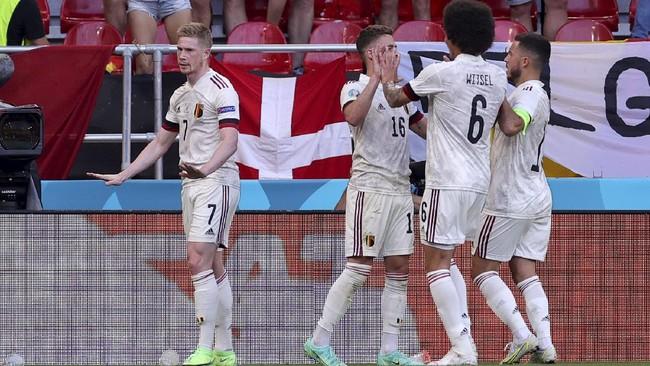 Klasemen Grup B Euro 2020 Usai Belgia Menang Lawan Denmark