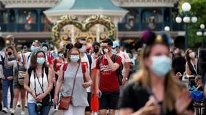 FOTO: Semarak Pembukaan Kembali Disneyland Paris