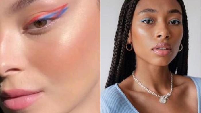 Biar Tampilan Mata Tampak Ekspresif, Ini Tips Pakai Eyeliner Warna-Warni