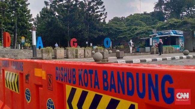Ada tiga pembagian ruas jalan di Kota Bandung yang ditutup terdiri dari ring 1, 2 dan 3.