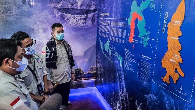 Menparekraf Sandiaga Uno mendukung penuh pengajuan Maros Pangkep Geopark ke UNESCO karena bisa menciptakan lapangan kerja baru.