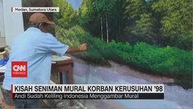 VIDEO: Kisah Seniman Mural Korban Kerusuhan '98