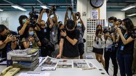 'Perlawanan Pers Hong Kong' Usai Polisi Serbu Kantor Media