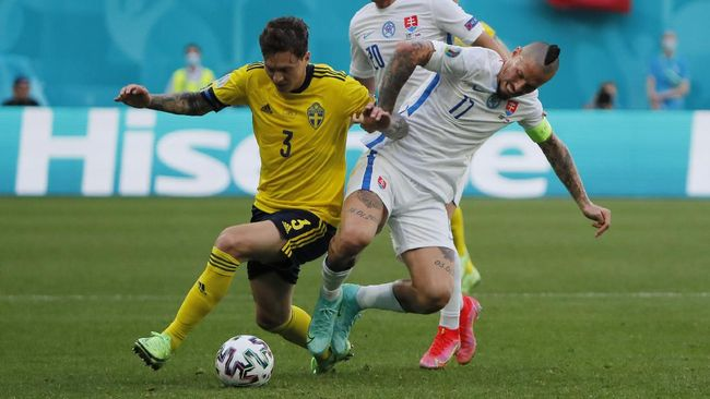 Spanyol akan menghadapi Slovakia di pertandingan lanjutan penyisihan Grup E Euro 2020 (Euro 2021).