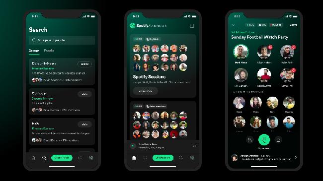 Cara pakai akun Spotify Greenroom yang baru diluncurkan dengan fitur mirip Clubhouse.