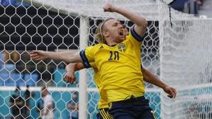 FOTO: Swedia Bungkam Slovakia di Euro 2020