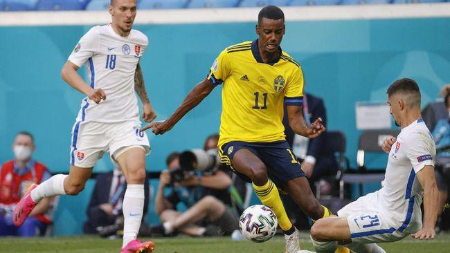 Timnas Swedia akan berhadapan dengan Polandia di penyisihan Grup E Euro 2020 (Euro 2021).