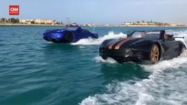 VIDEO: Yuk Rasain Sensasi Nyetir Mobil di Atas Air
