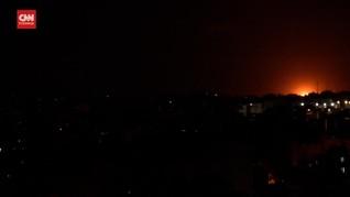 VIDEO: Jet Tempur Israel Gempur Jalur Gaza