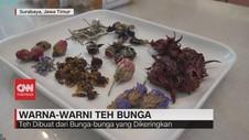 VIDEO: Warna-Warni Teh Bunga