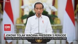 VIDEO: Jokowi Tolak Wacana 3 Periode Jabatan