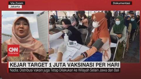 VIDEO: Kejar Target 1 Juta Vaksinasi Per Hari