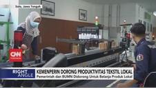 VIDEO: Kemenperin Dorong Produktivitas Tekstil Lokal