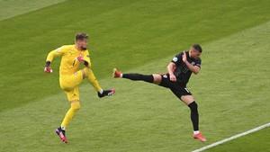FOTO: Kroasia dan Ceko Sama Kuat di Euro 2020
