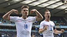 Top Skor Euro 2020: Schick Tinggalkan Ronaldo