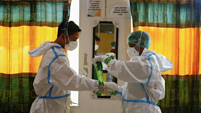 Rumah Sakit dr. Dradjat Prawiranegara (RSDP) Serang, Banten juga membatasi pemberian oksigen demi menjaga stok yang sangat terbatas.