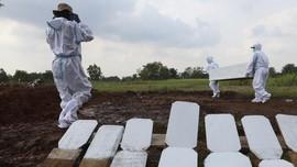Pemakaman Jenazah Covid di DIY Naik Dua Kali Lipat