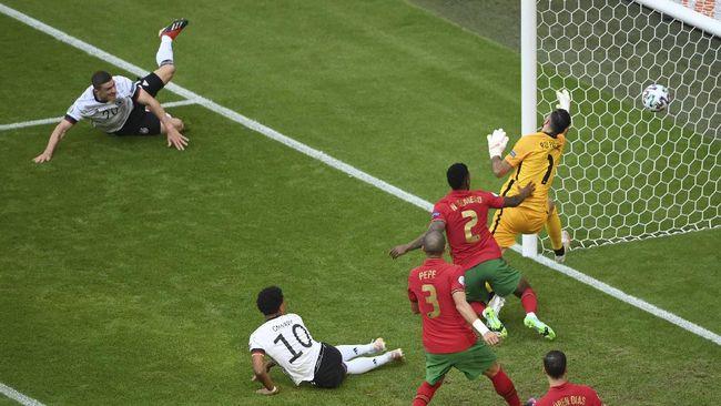 Daftar tim tersingkir dari Euro 2020 (Euro 2021) hingga Jerman kalahkan Portugal 4-2 jadi berita pilihan dari dunia olahraga dalam 24 jam terakhir.