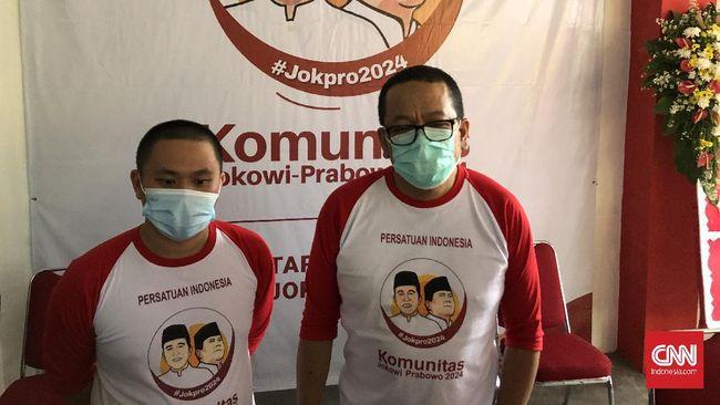 Jokpro 2024 yakin mendapat dukungan masyarakat soal Jokowi tiga periode, meski saat ini partai-partai banyak yang menolaknya.