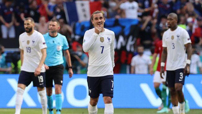 Empat kontestan Grup F Euro 2020, Prancis, Jerman, Portugal, dan Hungaria, masih bisa melangkah ke babak 16 besar.
