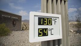 FOTO: Suhu Ekstrem di Death Valley Capai 54 Derajat Celcius