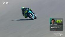 VIDEO: Marquez Mengancam, Rossi Santai di FP MotoGP Jerman
