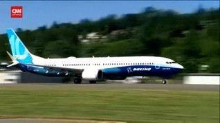 VIDEO: Boeing Uji Terbang Perdana 737 MAX 10