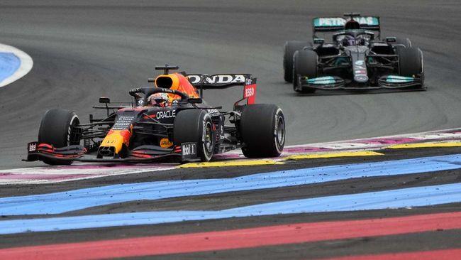 Max Verstappen meraih kemenangan dramatis di F1 GP Prancis setelah menyusul Lewis Hamilton di lap-lap terakhir.