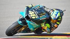 Rossi Marah ke Wartawan Usai Finis 14 di MotoGP Jerman
