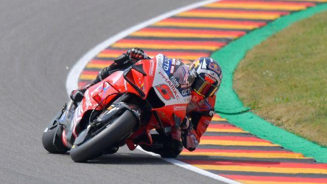 Johann Zarco jadi yang tercepat pada latihan bebas kedua (FP2) MotoGP San Marino 2021 di Sirkuit Misano, Jumat (17/9).