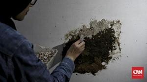 FOTO: Menyulap Limbah Kayu Menjadi Karya Lukis
