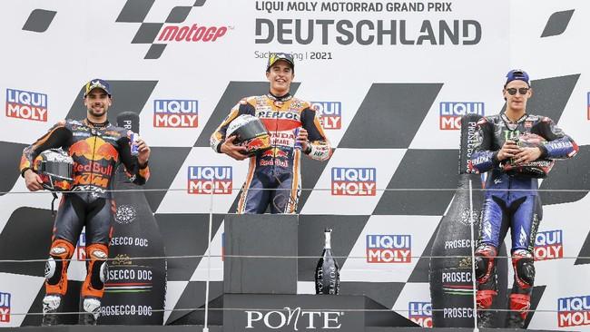 Buru Marquez di MotoGP Jerman, Oliveira Makin Berbahaya