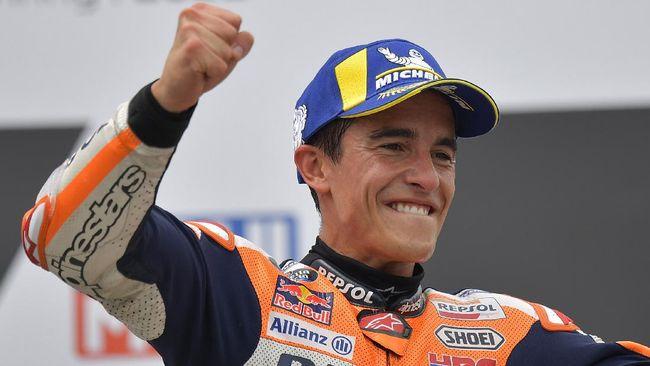 Menang di MotoGP Jerman, Marquez Yakin Tak Jadi Juara Dunia