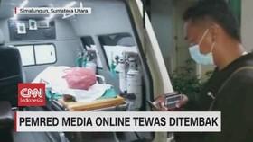 VIDEO: Pemred Media Online Tewas Ditembak