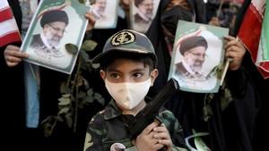 FOTO: Perayaan Kemenangan Ebrahim Raisi jadi Presiden Iran