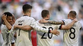 Jerman Hancurkan Portugal, Gosens Tak Minta Kostum Ronaldo
