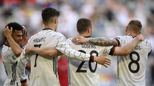 Berikut prediksi Jerman vs Hungaria dalam laga penyisihan Grup F Euro 2020 (Euro 2021) yang akan berlangsung di Stadion Allianz Arena, Kamis (24/6) dini hari.